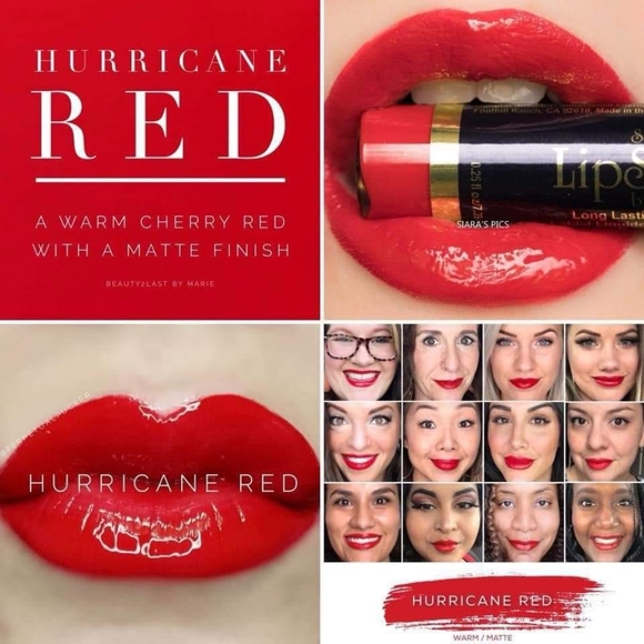 "SeneGence Other - Limited Edition LipSense ""Hurricane Red"""